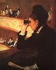 Art - Oil Paintings - Masterpiece #4447 - Mary Cassatt - At the Opera - Museum Quality