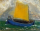 Art - Oil Paintings - Masterpiece #4460 - Odilon Redon - The Mystical Boat - Museum Quality