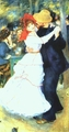 Art - Oil Paintings - Masterpiece #4466 - Pierre Renoir - Dancing at La Bougival - Gallery Quality