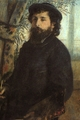 Art - Oil Paintings - Masterpiece #4472 - Pierre Renoir - Portrait of Claude Monet - Museum Quality