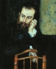 Art - Oil Paintings - Masterpiece #4474 - Pierre Renoir - Portrait of Alfred Sisley - Gallery Quality