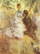 Art - Oil Paintings - Masterpiece #4477 - Pierre Renoir - Idylle - Museum Quality