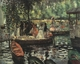 Art - Oil Paintings - Masterpiece #4478 - Pierre Renoir - La Grenouillere - Museum Quality