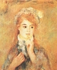 Art - Oil Paintings - Masterpiece #4484 - Pierre Renoir - Ingenue - Museum Quality