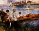 Art - Oil Paintings - Masterpiece #4485 - Pierre Renoir - Oarsmen at Chatou - Gallery Quality