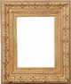 Wall Mirrors - Mirror Style #301 - 12X16 - Washed Gold