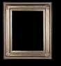 Art - Picture Frames - Oil Paintings & Watercolors - Frame Style #650 - 5x7 - Silver - Ornate Frames