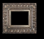 Art - Picture Frames - Oil Paintings & Watercolors - Frame Style #653 - 8x10 - Silver - Silver Ornate Frames