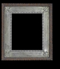 Art - Picture Frames - Oil Paintings & Watercolors - Frame Style #654 - 12x16 - Silver - Wood & Silver Frames