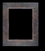 Art - Picture Frames - Oil Paintings & Watercolors - Frame Style #672 - 36x48 - Wood Tone & Gold - Wood & Gold Frames