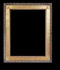 Art - Picture Frames - Oil Paintings & Watercolors - Frame Style #675 - 30x40 - Wood Tone & Gold - Wood & Gold Frames