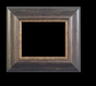 Art - Picture Frames - Oil Paintings & Watercolors - Frame Style #676 - 11x14 - Wood Tone & Gold - Wood & Gold Frames