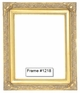 Picture Frames - Oil Paintings & Watercolors - Frame Style #1218 - 11X14 - Traditional Gold