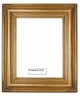 Picture Frames - Oil Paintings & Watercolors - Frame Style #1233 - 12X16 - Traditional Gold
