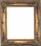 12X16 Picture Frames - Ornate Gold Picture Frames - Frame Style #323 - 12 X 16