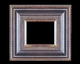 Art - Picture Frames - Oil Paintings & Watercolors - Frame Style #617 - 12x16 - Black & Gold - Black & Gold Frames