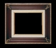 Art - Picture Frames - Oil Paintings & Watercolors - Frame Style #671 - 12x16 - Wood Tone & Gold - Ornate Frames