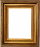 "Picture Frames 12""x24"" - Gold Picture Frames - Frame Style #329 - 12 x 24"