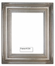 Picture Frames - Oil Paintings & Watercolors - Frame Style #1234 - 14X18 - Silver