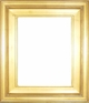 "Picture Frames 15""x30"" - Gold Picture Frames - Frame Style #353 - 15 x 30"