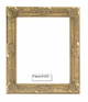 Picture Frames - Oil Paintings & Watercolors - Frame Style #1223 - 16X20 - Dark Gold