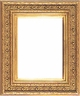 "Picture Frames 16""x20"" - Gold Picture Frames - Frame Style #322 - 16""x20"""