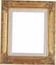 "16"" X 20"" Picture Frames - Gold Frame - Frame Style #335 - 16X20"