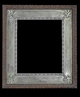 Art - Picture Frames - Oil Paintings & Watercolors - Frame Style #654 - 16x20 - Silver - Wood & Silver Frames