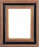 "Picture Frames 20""x20"" - Gold and Black Picture Frames - Frame Style #408 - 20 x 20"
