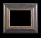 Art - Picture Frames - Oil Paintings & Watercolors - Frame Style #676 - 24x24 - Wood Tone & Gold - Wood & Gold Frames
