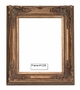 Picture Frames - Oil Paintings & Watercolors - Frame Style #1229 - 24X30 - Dark Gold