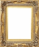 "Picture Frames 24"" x 30"" - Gold Picture Frames - Frame Style #338 - 24 x 30"