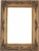 "24 X 36 Picture Frames - Ornate Gold Frame - Frame Style #314 - 24"" X 36"""