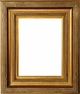 "Picture Frames 24 x 36 - Gold Picture Frames - Frame Style #328 - 24""x36"""