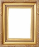 Picture Frames 24 x 36 - Gold Picture Frames - Frame Style #332 - 24 x 36