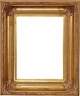 Picture Frames 24 x 36 - Gold Picture Frames - Frame Style #341 - 24 x 36