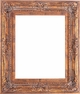 Picture Frames 24 x 36 - Gold Picture Frames - Frame Style #387 - 24 x 36
