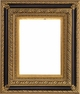 "24 X 36 Picture Frames - Black and Gold Ornate Picture Frames - Frame Style #411 - 24""X36"""
