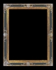 Art - Picture Frames - Oil Paintings & Watercolors - Frame Style #622 - 24x36 - Black & Gold - Ornate Frames