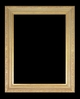 Art - Picture Frames - Oil Paintings & Watercolors - Frame Style #640 - 24x36 - Light Gold - Ornate Frames
