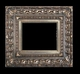 Art - Picture Frames - Oil Paintings & Watercolors - Frame Style #653 - 24x36 - Silver - Silver Ornate Frames