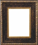 Picture Frames 24x48 - Gold & Black Picture Frame - Frame Style #368 - 24x48