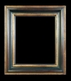 Art - Picture Frames - Oil Paintings & Watercolors - Frame Style #620 - 30x40 - Black & Gold - Black & Gold Frames