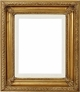 36 X 36 Picture Frames - Gold Frame - Frame Style #318 - 36X36