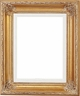 "Picture Frames 36 x 36 - Gold Picture Frames - Frame Style #342 - 36""x36"""