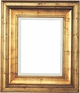 36 X 48 Picture Frames - Gold Frames - Frame Style #354 - 36 X 48