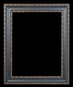 Art - Picture Frames - Oil Paintings & Watercolors - Frame Style #621 - 36x48 - Black & Gold - Black & Gold Frames