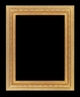 Art - Picture Frames - Oil Paintings & Watercolors - Frame Style #641 - 36x48 - Light Gold - Ornate Frames