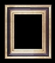 Art - Picture Frames - Oil Paintings & Watercolors - Frame Style #673 - 36x48 - Wood Tone & Gold - Wood & Gold Frames
