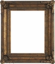 "Picture Frames 48"" x 48"" - Gold Picture Frame - Frame Style #390 - 48x48"